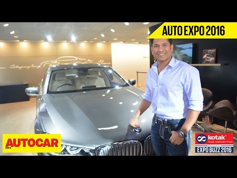 Auto Expo 2016 Interviews Sachin Tendulkar Presented By Kotak Mahindra Prime