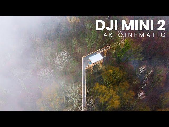 Cloudy Days | DJI Mini 2 Cinematic Footage | 4K Drone Video