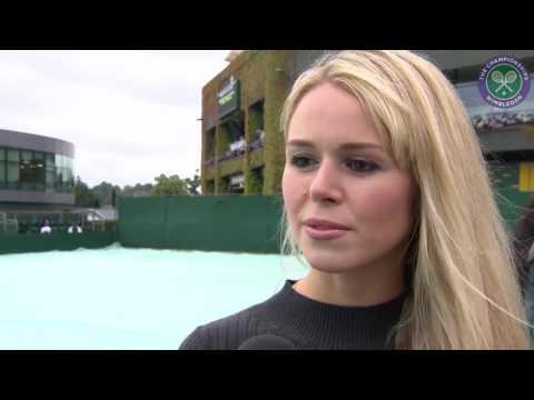 Marcus Willis' girlfriend set to cheer on Wimbledon's unlikely star