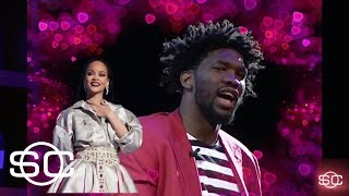 Joel Embiid and Rihanna's complicated 'relationship' | SportsCenter | ESPN