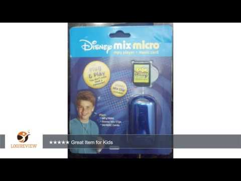 Disney Mix Micro MP3 Player and 12-Song Mix Clip Music Card | Review/Test