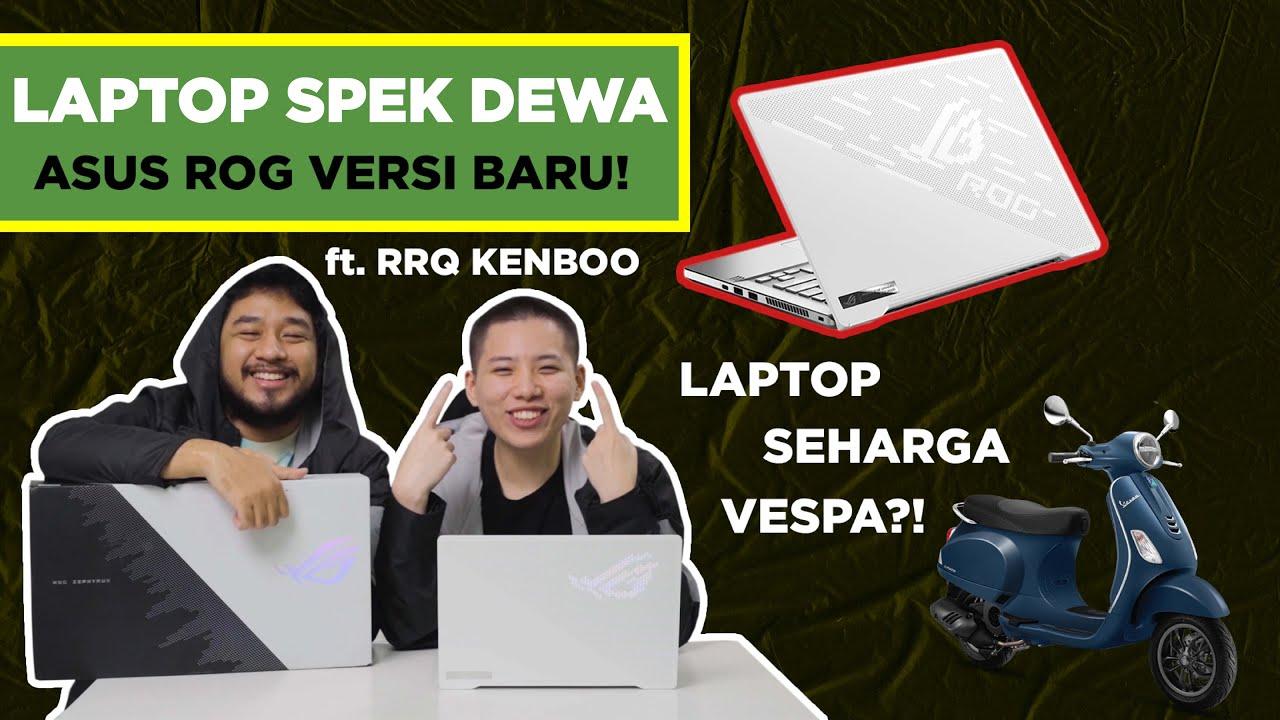 REVIEW LAPTOP ASUS SEHARGA VESPA bersama KENBOO!!