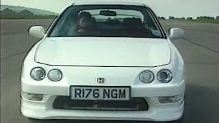 Honda Integra Type R DC2 Review by Top Gear 1998