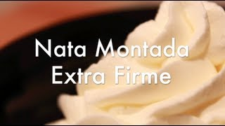 Nata Montada Extra Firme - Especial para Tartas y Rellenos