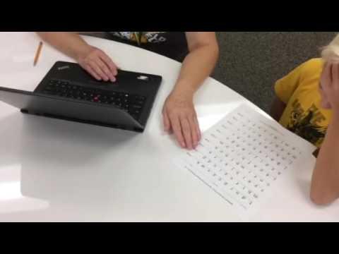 Aimsweb letter sound fluency