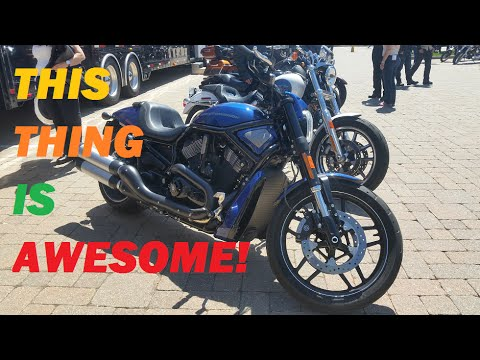 2015 Harley Davidson V-Rod Vlog And First Ride, Review/ Impressions