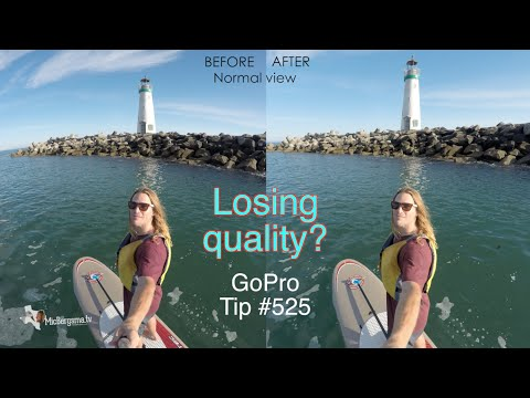 Does GoPro Studio Fisheye Remove Feature Affect The Quality? GoPro Tip #525