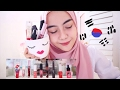 KOREAN LIP TINTS PRODUCTS | swatch & review (bahasa indonesia) | Shafira Eden