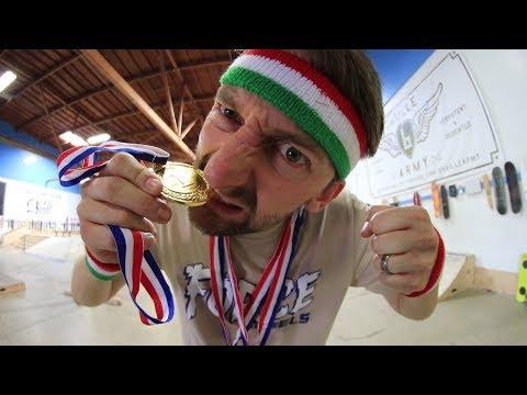SKATEBOARDING  OLYMPICS | AARON KYRO VS THE WORLD