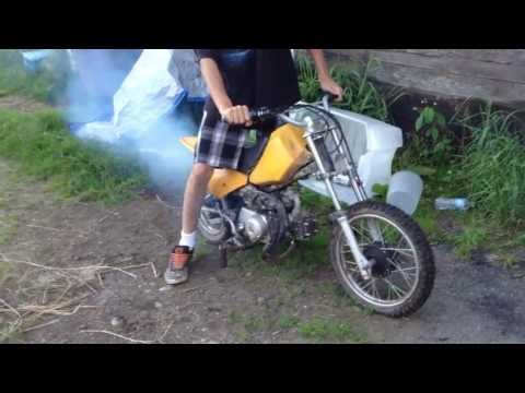 Baja 50cc Dirt Runner Straight Pipe Goon...