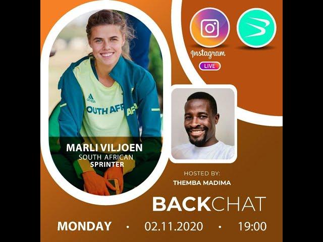 BackChat ep72 Marlie Viljoen
