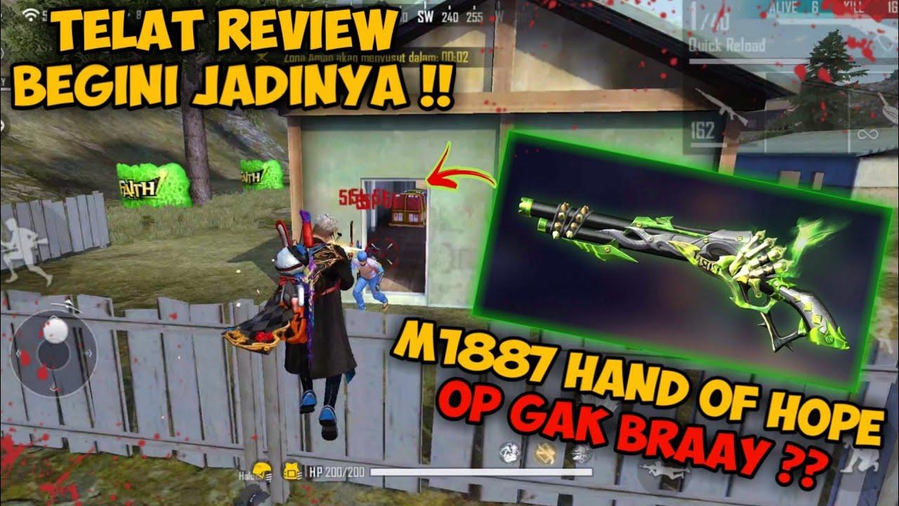 TELAT REVIEW SKIN TERBARU SHOTGUN PUTAR !! MALAH BEGINI JADINYA!? | GARENA FREE FIRE