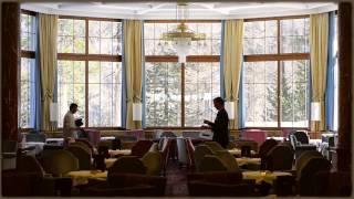 Treten Sie ein ins Hotel Waldhaus Sils