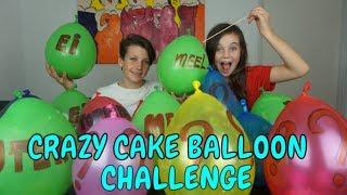 CRAZY CAKE BALLOON CHALLENGE - Bibi, Tobias