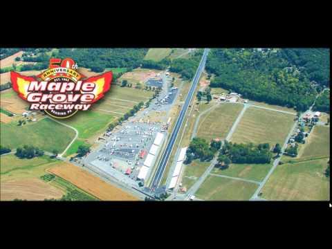 Coca Cola Olympics of Drag Racing Maple Grove Raceway Radio Ad