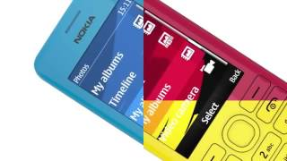 Nokia 206 Dual SIM Mobile Phone