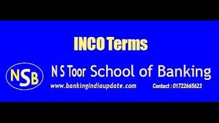 CAIIB Foreign Exchange INCO Terms