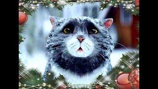 Рождественское бедствие Мога на русском языке. Короткометражный рождественский фильм про кота