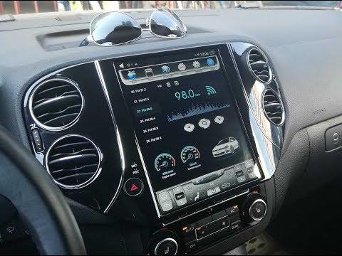 Штатная магнитола в стиле Tesla Volkswagen Tiguan (2007-2016) Android CF-3202