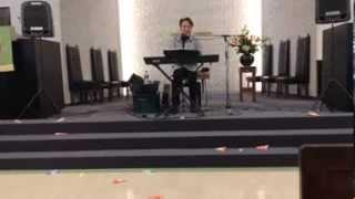 日本キリスト教団大分教会での『チャペル・コンサート』の模様。