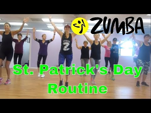 Irish Zumba Routine-Dance above the rainbow