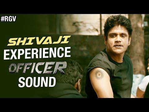 SHIVAJI - Experience OFFICER Sound | RGV | Nagarjuna | Myra Sareen | Ram Gopal Varma | #Officer