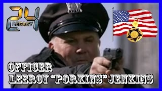 Officer Leeroy Jenkins 24 Legacy Bridge Scene
