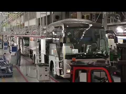 Proses Pembuatan BUS Dengan Mesin Canggih Di Jepang