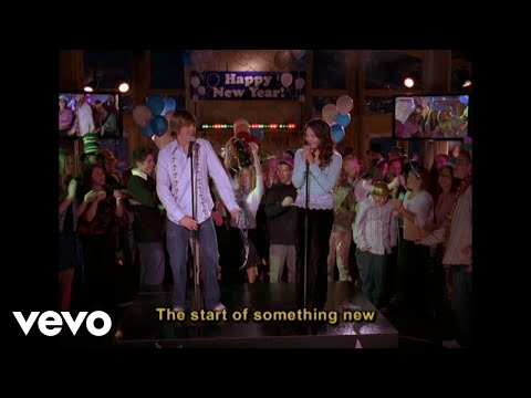 High School Musical Cast - Start of Something New (Disney Channel Sing Along)