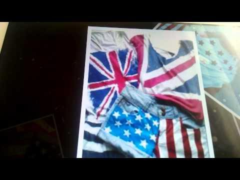 USA bayraklı kıyafetler