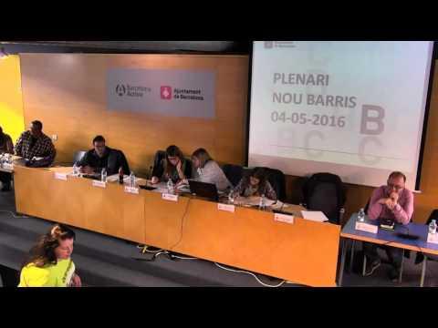 Consell de Districte de Nou Barris. Sessió plenària de 4/5/2016