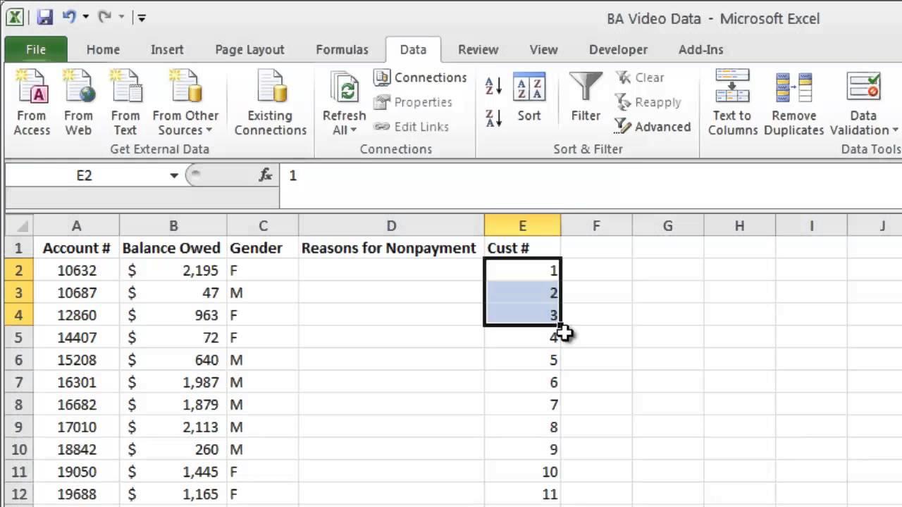 Mod Function for Systematic Random Sampling Excel YouTube – Random Sampling Worksheet