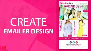 Create Email Templates in Photoshop | Easy