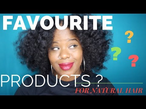 Natural Hair Products | Favourites for Kinky Hair