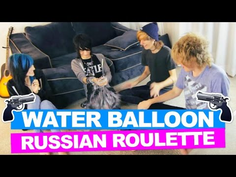 WATER BALLOON RUSSIAN ROULETTE *CHALLENGE*