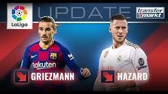 LaLiga-Marktwerte: Griezmann & Hazard unter den großen Verlierern | TRANSFERMARKT