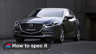 How to spec the 2016 Mazda3: engines, colour and trim levels