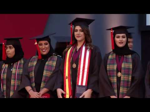 Carnegie Mellon University Qatar Graduation Class of 2018