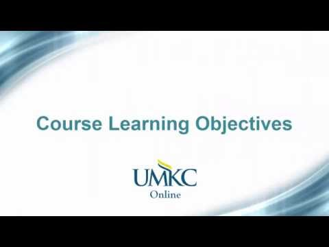 8-9. Course Learning Objectives - Certification Checklist