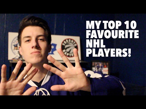 My Top 10 Favourite NHL Players!