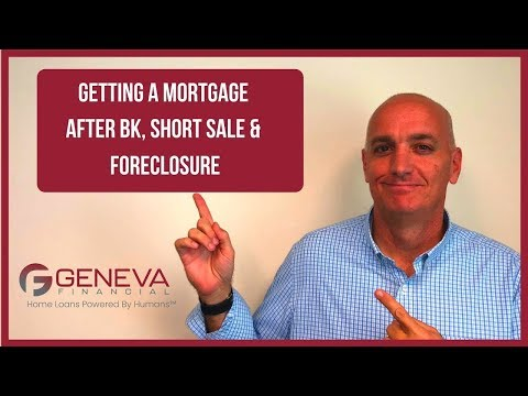 getting-a-mortgage-after-bankruptcy,-foreclosure-or-short-sale---what-is-the-wait?