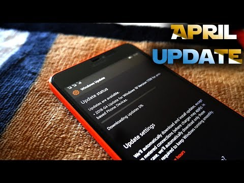 Windows 10 April 2018 Update for Windows Phones, not really