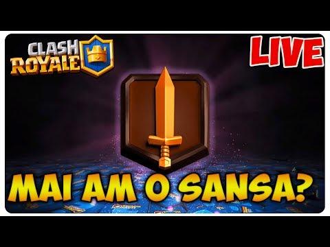 Mai am o sansa la  CHALLENGER 1?    Clash Royale LIVE