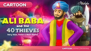 Ali Baba and the 40 Thieves | Fairy Tales Bedtime Stories for Kids