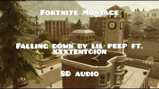 Fortnite Montage | Falling Down by Lil Peep ft. XXXTentacion | 8D Audio