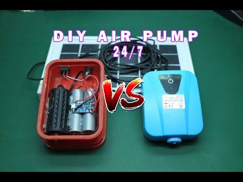 Solar Air Pump / Aerator