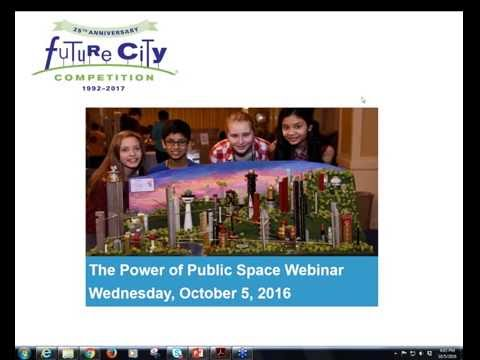 Future City Webinar: Power of Public Spaces
