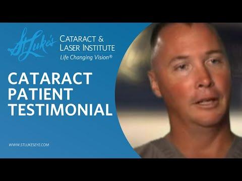 St. Lukes Cataract & Laser Institute - Cataract Patient Testimonials
