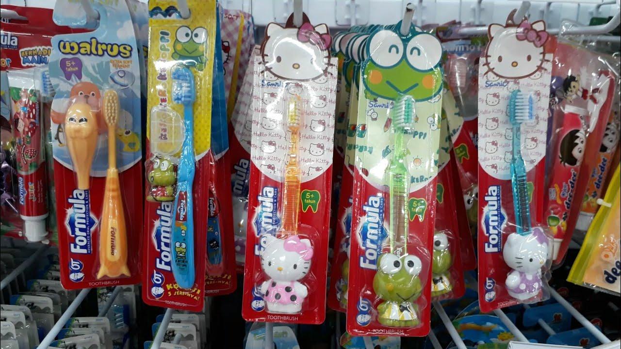 Beli Sikat Gigi Baru dapet hadiah Mainan Hello Kitty lucu 💖 Pasta Gigi dee  dee Pokemon b71ad3450e
