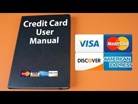 Credit Card User Manual Beatthebush